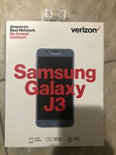 Verizon Wireless Samsung Galaxy J3 3rd Gen 16GB Prepaid Smartphone - Silver. NEW