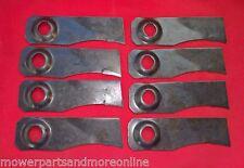 4 Pair Victa Utility Lawn Mower Blades - Pro 460, Mastercut 460 - CA093515