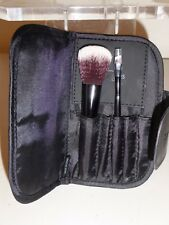 NEW IT BRUSHES FOR ULTA SET OF TWO COMPLEXION & LINER/BROW MINI TRAVEL BRUSHES