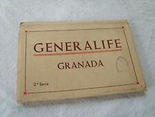 carnet cartes postales Generalife GRANADA Grenade Espagne 2e serie ~1950