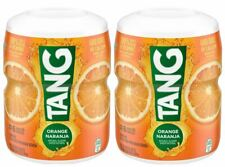 TANG Orange Energy Drink Mix Makes 6 Quarts - 2 packs