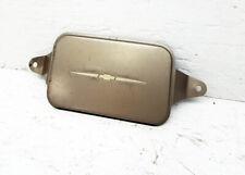 1938 Chevrolet Passenger Car Sedan Coupe Master Clock Delete Plate