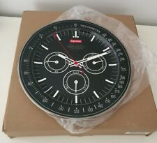 More details for new in original packaging fw20 supreme watch porcelain plate black