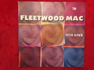 "FLEETWOOD MAC   ""BOSTON LIVE""   LP  1984  MUSIC GALORE  CLALP-152  ROCK  UK   NM"