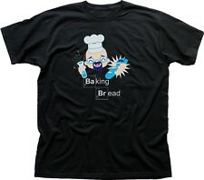 Breaking Bad Baking Bread Walter White 1973 Stampato T-shirt di Cotone 9684