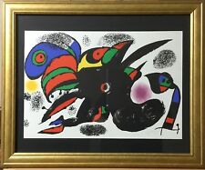 Joan Miro Hand Signed Lithograph 100% Authentic