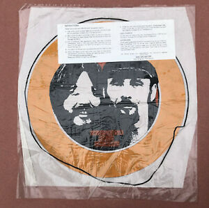 SEALS AND CROFTS On Warner Bros. Records US Vintage 1970's PROMO T-Shirt IRON ON