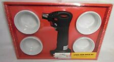 Creme Brulee 5 Piece Set 4 Ramekins 1 Butane Torch