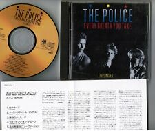 THE POLICE Every Breath You Take-Singles JAPAN 24k GOLD CD D33Y3406 w/PS+INSERT