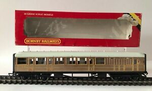 Vintage Hornby LNER Composite Teac Coach R436 Brake Composite - MIB
