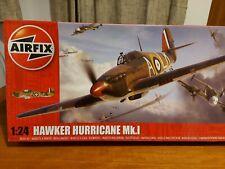 AIRFIX HAWKER HURRICANE MKI FACTORY SEALED BOX UNSTARTED 1/24 SCALE