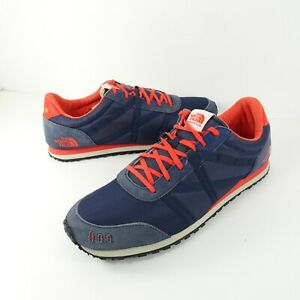 The North Face Mens 11 Dipsea 78 Running Sneaker Blue Vibram Ortholite Shoes