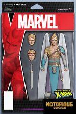 Uncanny X-Men #5 Action Figure Variant Marvel Comics 1st Print Excelsior Bin