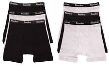 6 KNOCKER MEN'S BOXER BRIEFS ASSORTED SOLID  COLORS SIZE EXTRA LARGE (40-42)
