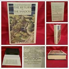 *1st Ed/1st* The Return of the Shadow, TOLKIEN, History of Middle Earth, UNREAD