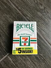 7-Eleven Bicycle Playing Cards Brand New Unopened - Rare