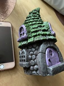 Quality Rubber Latex Mould Large Fairy House Fairy Garden Mythical Elf