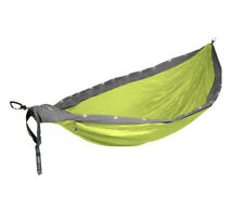 ENO Eagles Nest Outfitters DoubleNest LED Hammock Grey and Neon;  New!