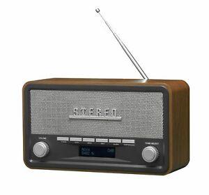 DAB+ Radio, Stereoanlage mit Bluetooth, AUX und Weckfuntion Denver DAB 18