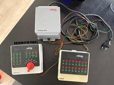 Märklin Digital 6040 6021 60052 control unit keyboard Transformator