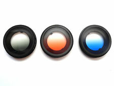 Freewell Yuneec Q500 / H Grey Orange Blue Graduated Camera Lens Filter 3 Pack