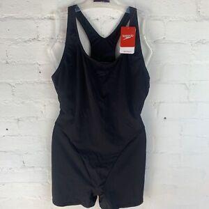 Speedo Womens Essential Endurance+ Legsuit Black UK14 (36)