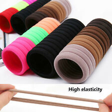 15X Multicolore Chouchou Queue Ressort Élastique Bande Cheveux Accessoire Femme