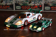 2009 Hess Race Car and Racer - Brand New 100% Mint-in-Box