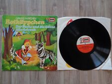Schallplatte LP Vinyl Rotkäppchen + Der Fuchs und die Gänse + Allerleirauh E2022