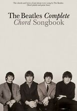 The Beatles Complete Chord Songbook Sheet Music Guitar Chord Songbook  000306349