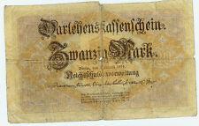 Banknote Deutsches Reich 20 Mark 1914 Ro.49a