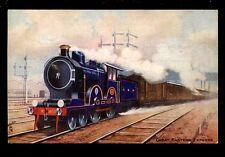 Railway GER Express Tuck Oilette series VIII  #9161 PPC