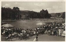 Markneukirchen im Vogtland - Rudolf Thiele-Bad, Foto-Ansichtskarte um 1940