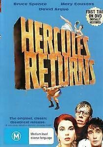 Hercules Returns DVD Brand New and Sealed Australian Release