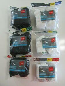 Hanes Platinum Boys Low Cut Comfort Blend Socks Nwt