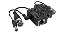 Premium CCTV BNC Video Balun + DC Power Extender Over Ethernet Cat5/6 Cable