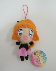 """Kaitou Saint Tail Meimi Haneoka Mascot Strap Plush 4"""" TAG Toy Doll Japan"""