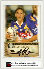 2003 Select NRL XL Future Force Signature Card FF35 Billy Slater (Storm)