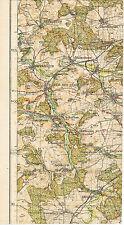 Weil der Stadt Magstadt Ehningen 1933 kl. orig. Teil-Karte Rutesheim Grafenau