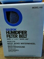 Cosco Model 410 Humidifier Filter Belt. Fits West Bend, Westinghouse, Vaporall