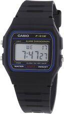 Casio F-91W Orologio Vintage Nuovo crono luce sveglia batteria 7 anni polso SIR