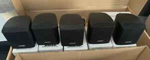 X5 Bose Cube Speakers