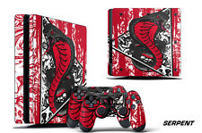 Skin Decal Wrap For PS4 Slim Playstation 4 SLIM Console + Controller Stickers SP