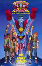 CAPTAIN PLANET AND THE PLANETEERS Movie MINI Promo POSTER
