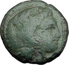 ALEXANDER III the GREAT 336BC Hercules Club Macedonia Ancient Greek Coin i60638