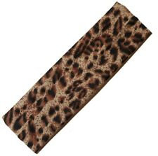 Bandeau élastique léopard - cheveux - elastic headband leopard print hairband
