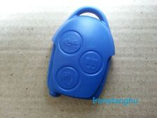 NEW FORD TRANSIT CONNECT MK7 BLUE REMOTE KEY FOB CASE 3 BUTTON SHELL