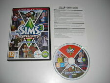 THE SIMS 3 UNIVERSITY LIFE Limited Edition Add-On Expansion Pack Pc DVD / MAC