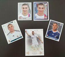 Karim Benzema Panini Rookie Set X5 Olympique Lyonnais Real Madrid French Team