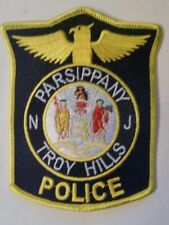 NEW JERSEY, PARSIPPANY TROY-HILLS POLICE SHOULDER PATCH Free Shipping